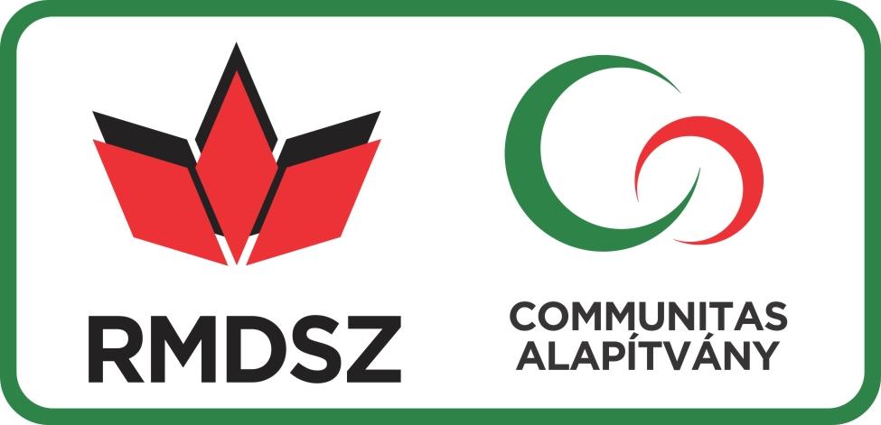 RMDSZ + Communitas alapitvany